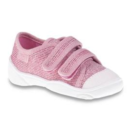 Befado różowe obuwie dziecięce  907P099 1