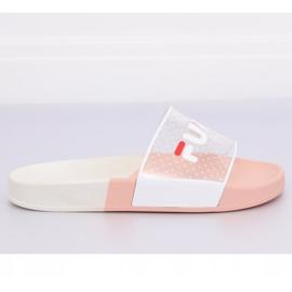 Klapki damskie różowe ZD807 Pink 5