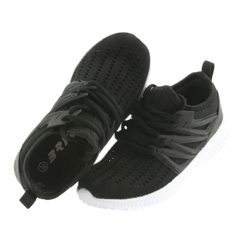 Bartek wkładka skóra 58114 Buty sportowe czarne zdjęcie 4