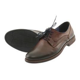 Pantofle męskie brązowe Nikopol 1712 6