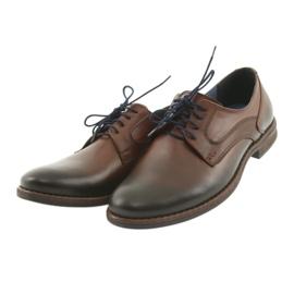 Pantofle męskie brązowe Nikopol 1712 3