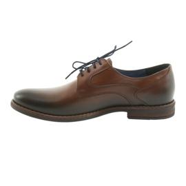 Pantofle męskie brązowe Nikopol 1712 2