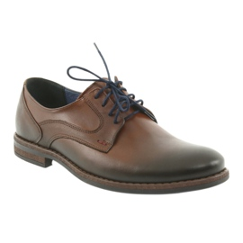 Pantofle męskie brązowe Nikopol 1712 1