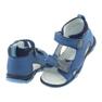 Sandałki chłopięce rzepy Bartek 51489 niebieski zdjęcie 4