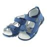 Sandałki chłopięce rzepy Bartek 51489 niebieski zdjęcie 3