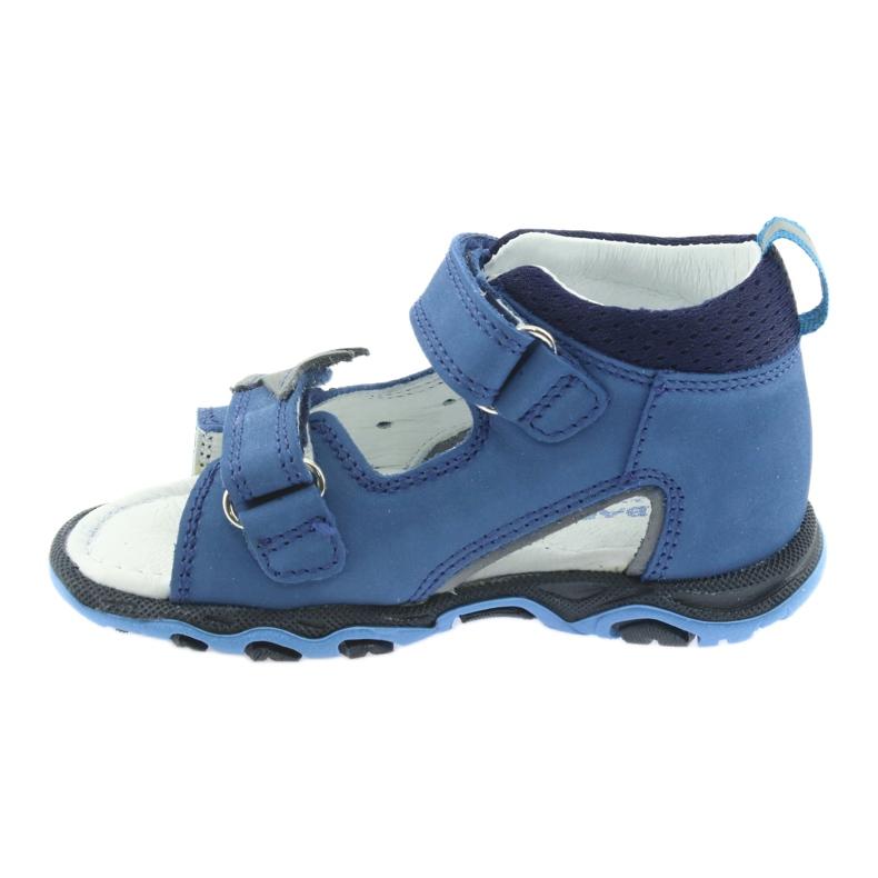 Sandałki chłopięce rzepy Bartek 51489 niebieski zdjęcie 2