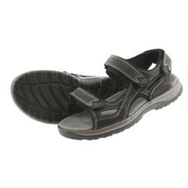 Sandały na rzepy lekki spód EVA DK czarne 4