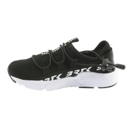 Bartek buty sportowe czarne 55109 wkładka skóra białe 2