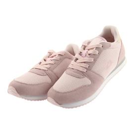 Buty sportowe Lt.pink American Club FH10 3