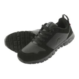 Sportowe Buty American Club FH16 czarne 5