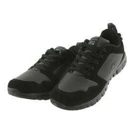 Sportowe Buty American Club FH16 czarne 3