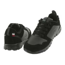 Sportowe Buty American Club FH16 czarne 4