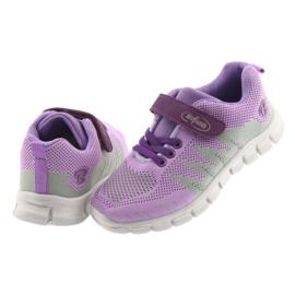 Befado obuwie dziecięce 516Y025 fioletowe szare 4
