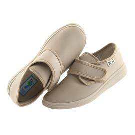 Befado obuwie damskie pu 036D024 brązowe 6