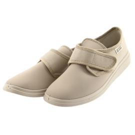 Befado obuwie damskie pu 036D024 brązowe 4