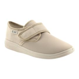 Befado obuwie damskie pu 036D024 brązowe 2