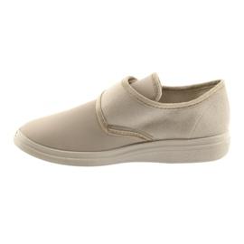 Befado obuwie damskie pu 036D024 brązowe 3