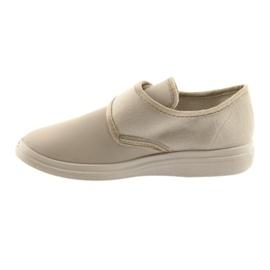 Befado obuwie damskie pu 036D024 Dr.Orto beżowy 2