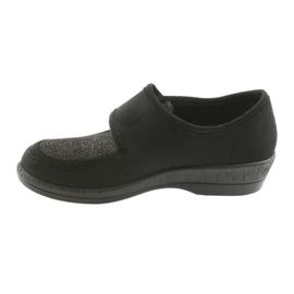 Befado obuwie damskie pu 984D017 czarne 3