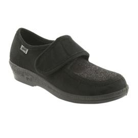 Befado obuwie damskie pu 984D017 czarne 2