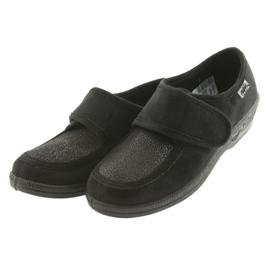 Befado obuwie damskie pu 984D017 czarne 4
