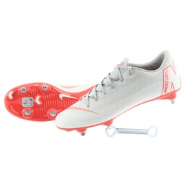 Nike Mercurial Vapor 12 Academy szare szare 5
