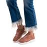 SHELOVET Modne Sneakersy różowe 1