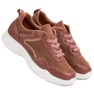 SHELOVET Modne Sneakersy różowe 3