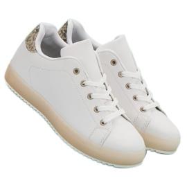 SHELOVET Damskie Obuwie Sportowe białe 6