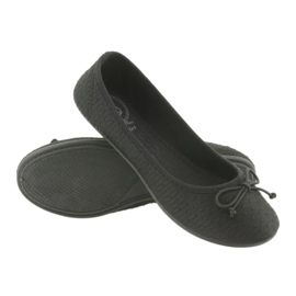 McKey trampki balerinki wsuwane czarne 3