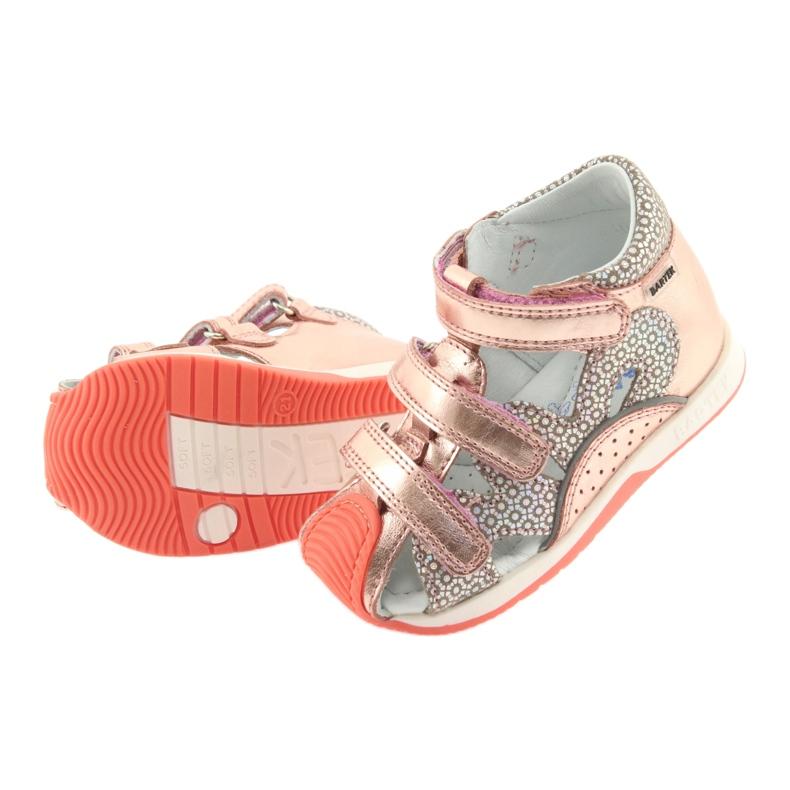 Bartek 81021 sandałki różowe złoto zdjęcie 5