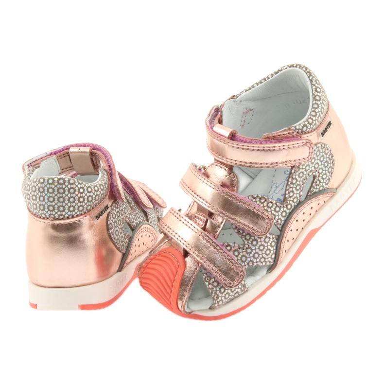 Bartek 81021 sandałki różowe złoto zdjęcie 4