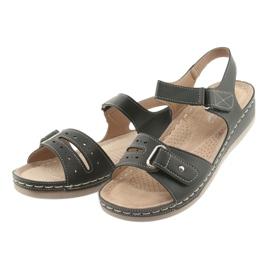 Sandały damskie comfort DK 25131 czarne 3