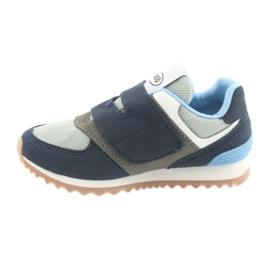 Befado obuwie dziecięce 516Y041 szare granatowe 2