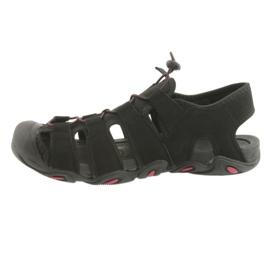 Sandały 4f M H4L18-SAM003 czarne 2