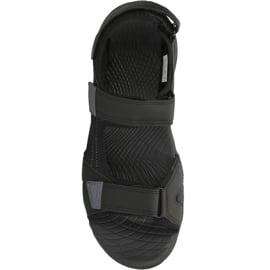 Sandały 4F M H4L18-SAM001 głęboka czerń czarne 1