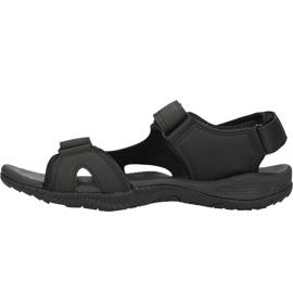 Sandały 4F M H4L18-SAM001 głęboka czerń czarne 2
