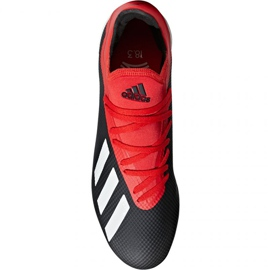 Buty piłkarskie adidas X 18.3 Tf M BB9398 czarne czarne 1
