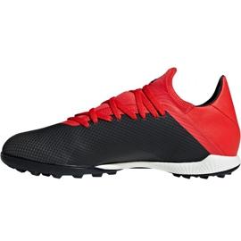 Buty piłkarskie adidas X 18.3 Tf M BB9398 czarne czarne 2