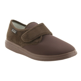 Befado obuwie damskie pu 036D008 brązowe 2