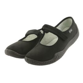 Befado obuwie damskie pu--young 197D002 czarne 4