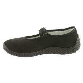 Befado obuwie damskie pu--young 197D002 czarne 3