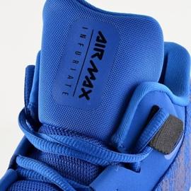 Buty koszykarskie Nike Air Max Infuriate 2 Mid M AA7066-400 niebieskie niebieskie 1
