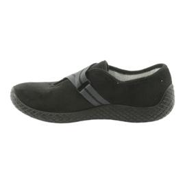 Befado obuwie damskie pu--young 434D014 czarne 2