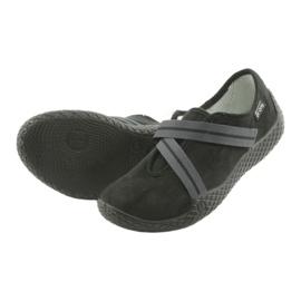 Befado obuwie damskie pu--young 434D014 czarne 4