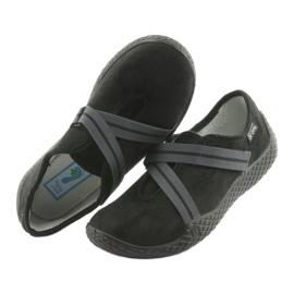 Befado obuwie damskie pu--young 434D014 czarne 5