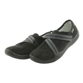 Befado obuwie damskie pu--young 434D014 czarne 3