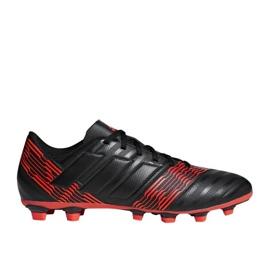 Buty piłkarskie adidas Nemeziz 17.4 FxG M CP9006 wielokolorowe czarne 1