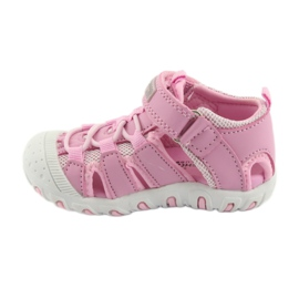 Sandałki sportowe American Club różowe 2