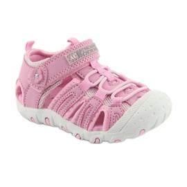 Sandałki sportowe American Club różowe 1
